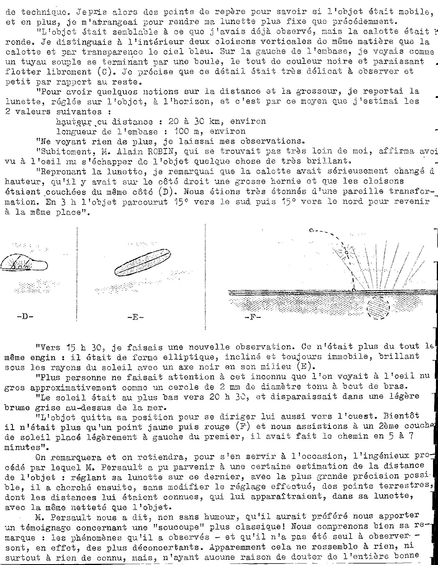 1967: lex /12 à  à la tombé de la nuit- Disques lumineux - Forêt de Pontcalleck (56)  - Page 2 19652