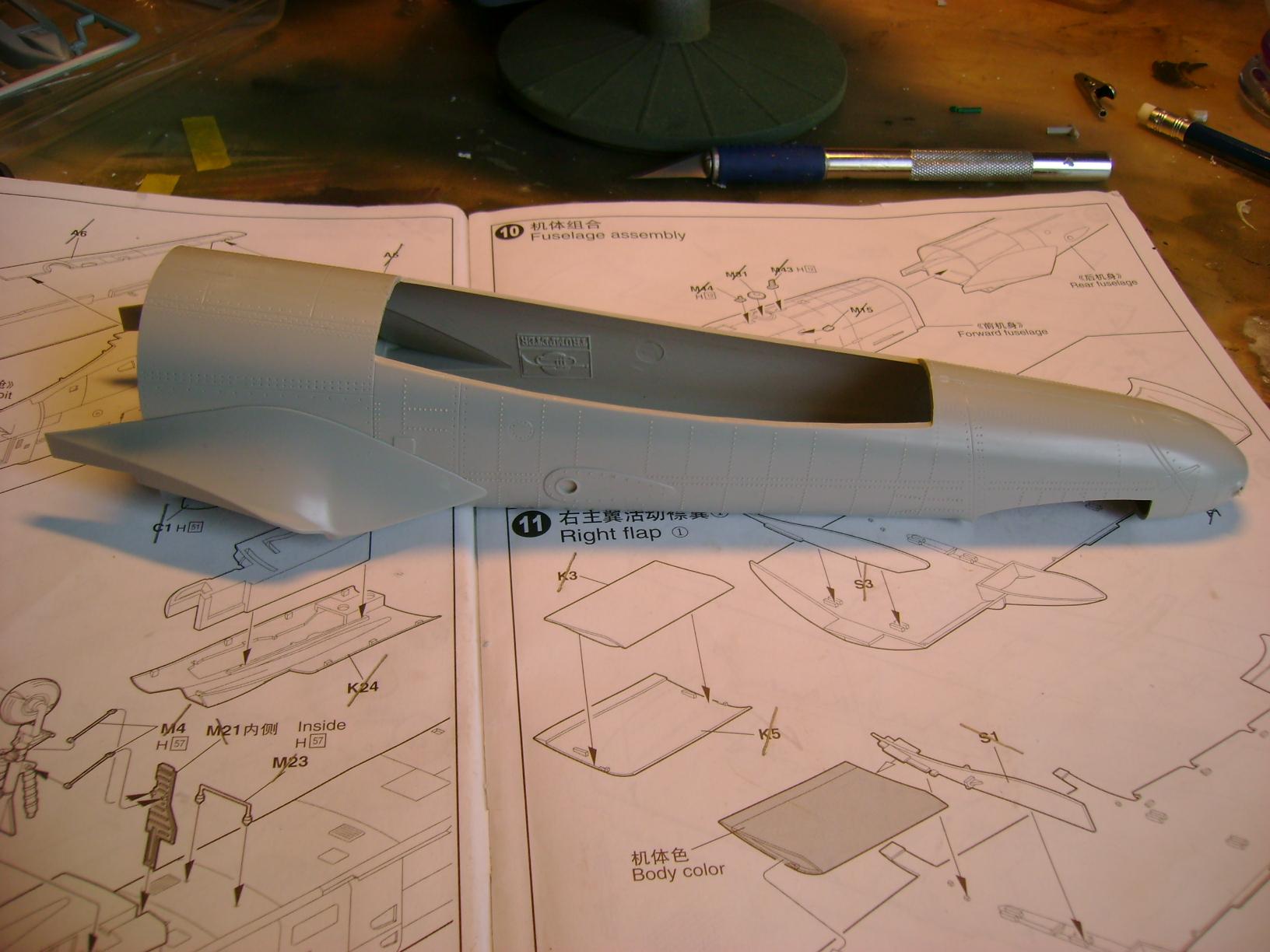 A-10 Thunderbolt II...1/32 Trumpeter + PE Edouard....( T-Bird) Up 02/12... 75081803