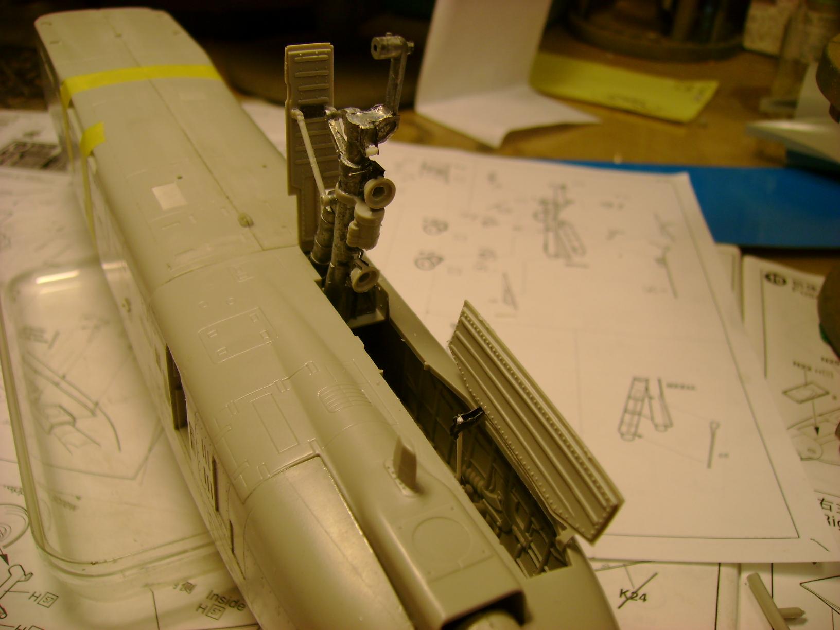 A-10 Thunderbolt II...1/32 Trumpeter + PE Edouard....( T-Bird) Up 02/12... 87254636