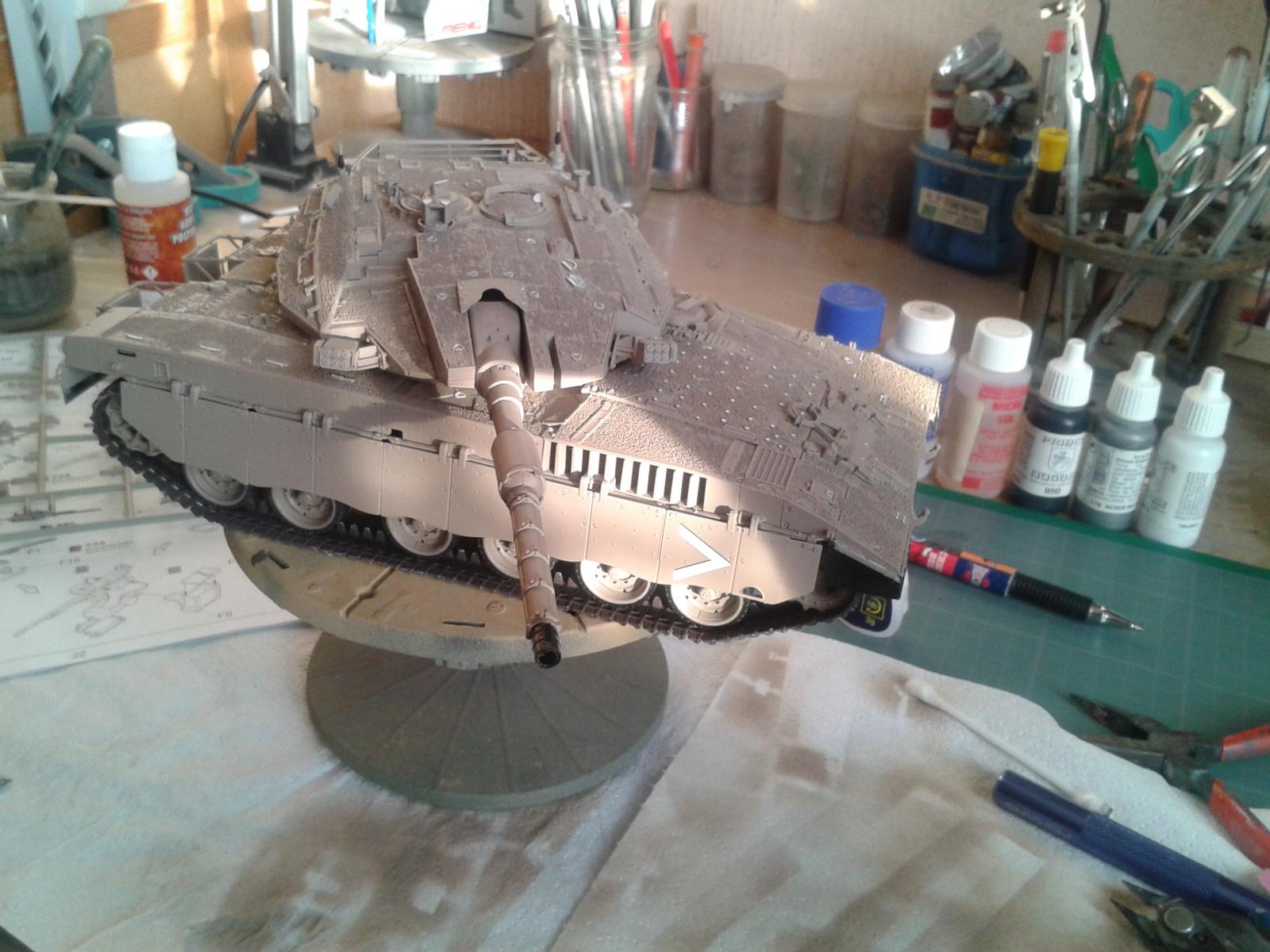 IDF MERKAVA MK.3D EARLY au 1/35 By Meng.....Terminer !!!! et sur son dio.... - Page 2 20130326180358