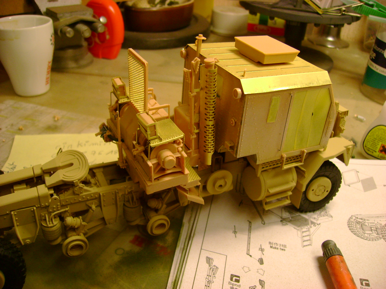 M1070 Truck Tractor & M1000 Semi-Trailer By T-bird!!!!! 1/35 Hobby Boss.Up du01/02.... - Page 4 112cnm