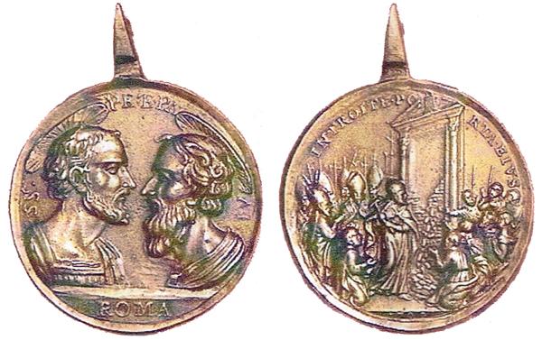 Recopilacion de medallas jubilares de datacion dudosa expuestas en el foro 1700pedroypablojubileoc