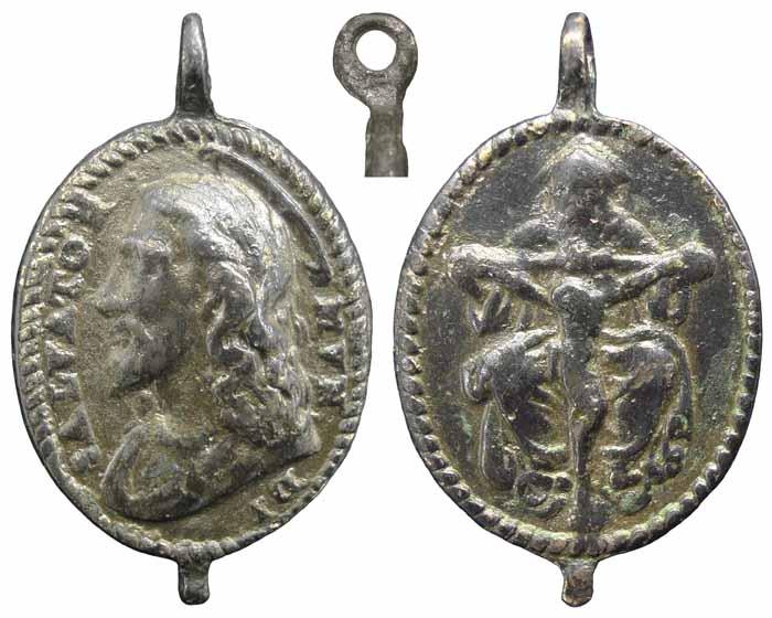 Medalla Salvator Mundi / Santísima Trinidad - MR(298) (R.M. SXVI-O17) Mr298