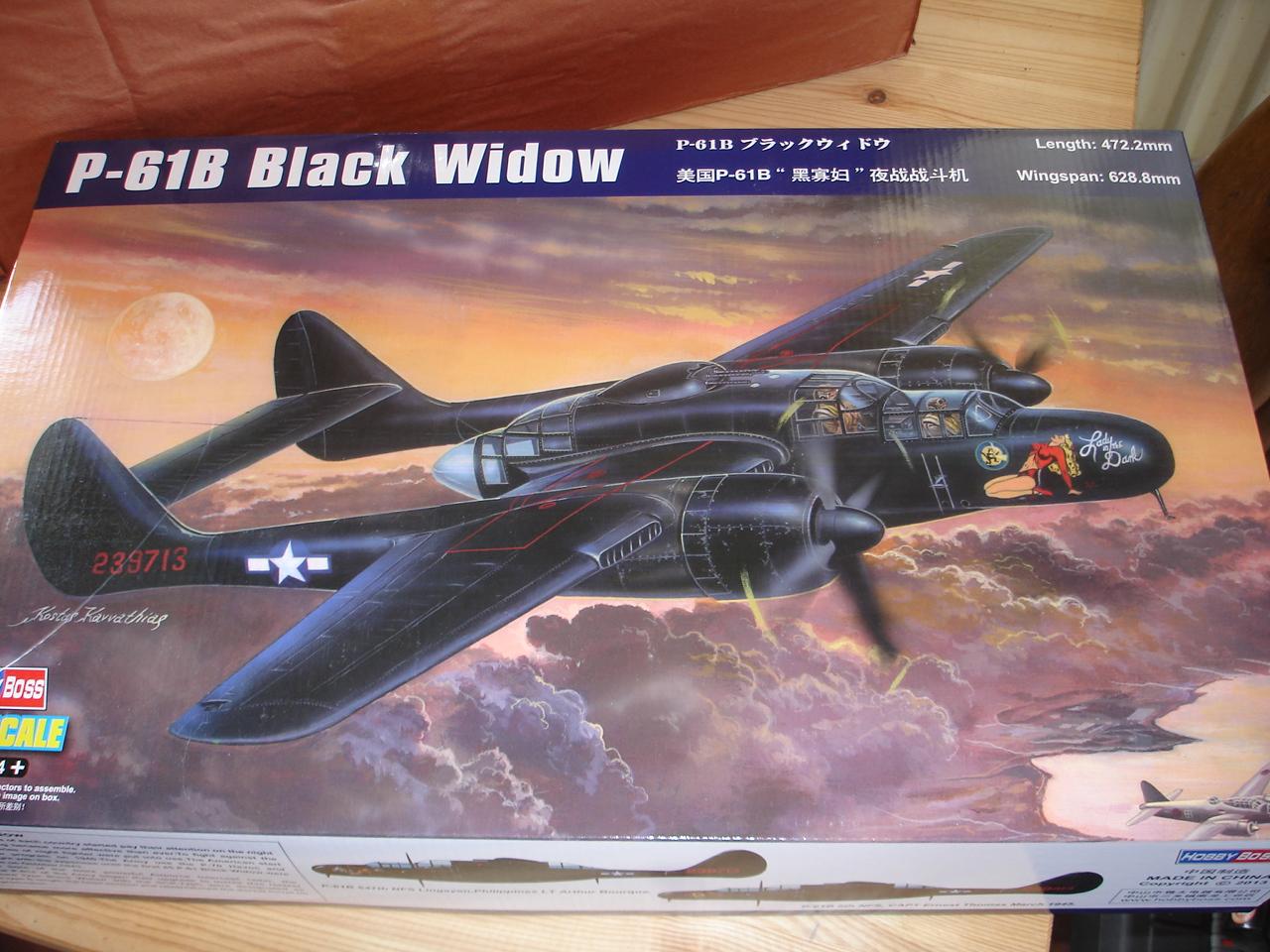 P-61 B Black Widow Hobby Boss 002bzv