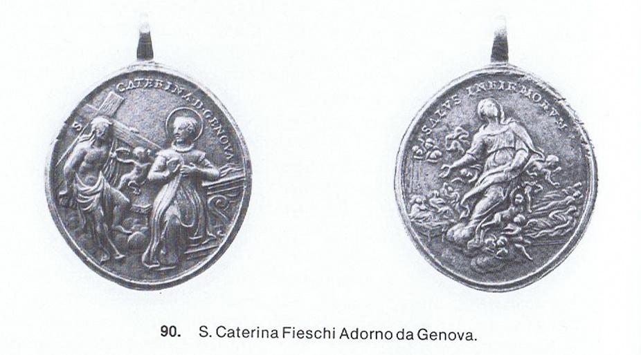 Beata Catalina de Génova / Asunción de la Virgen   (R.M. SXVIII-O146B) Gallamini90