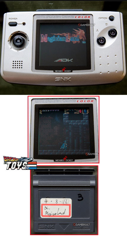 "[Jeux]   Magician Lord 2 ""prototype"" NeoGeo Pocket. Magicianlord2neogeopock"