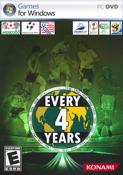 EVERY 4 YEARS! WORLD CUP 2018-1982 New Edition! Icg6