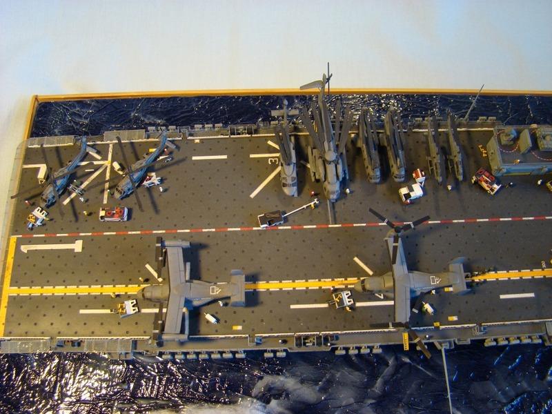 USS WASP LHD-1 1/350 Revell  Dsc09190k