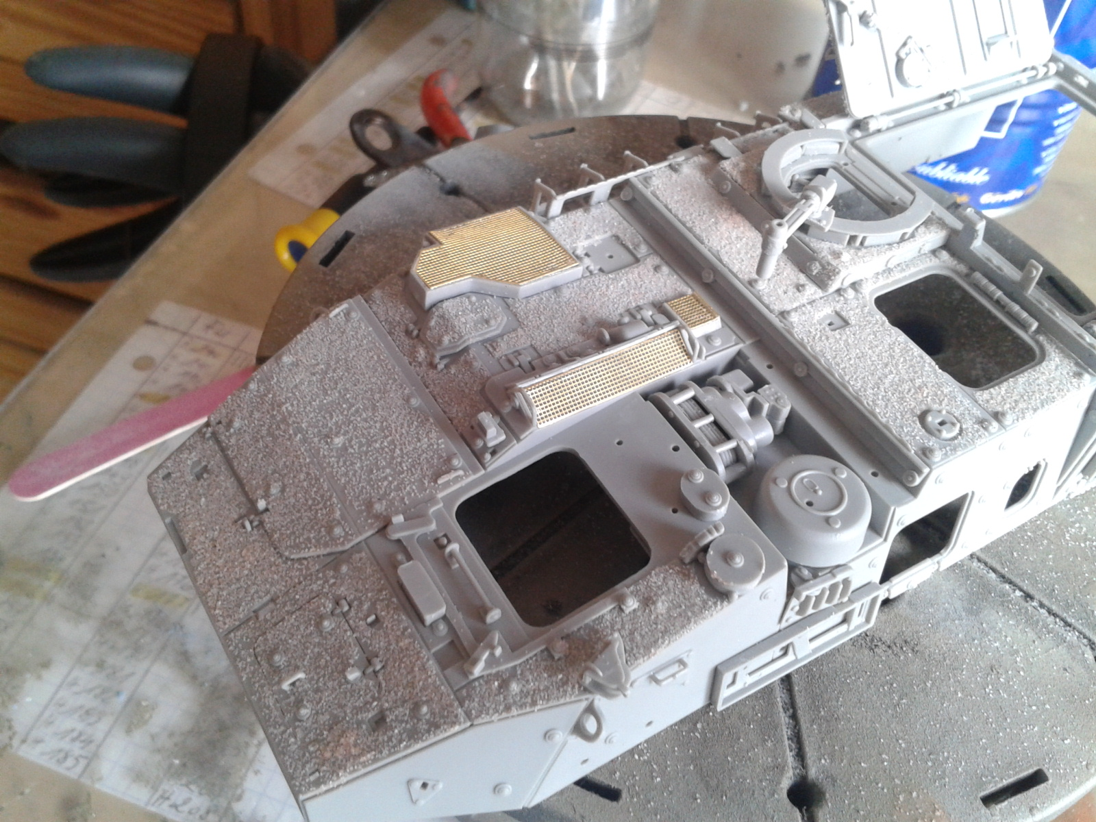 Stryker M1129 Mortar Carrier MC-B ...Montage terminé !!!! 20130521172045