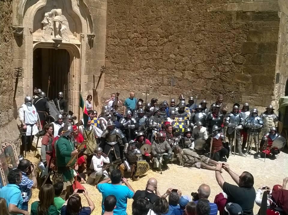 V Jornadas de Recreación Histórica con la Guerra de Sucesión Castellana (1475) Castillo de Belmonte GlmPMK