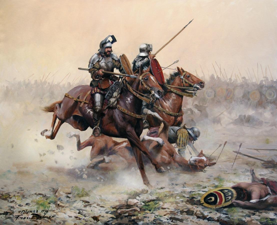 Armamento y equipo de los conquistadores españoles en el norte de América O8k8n4