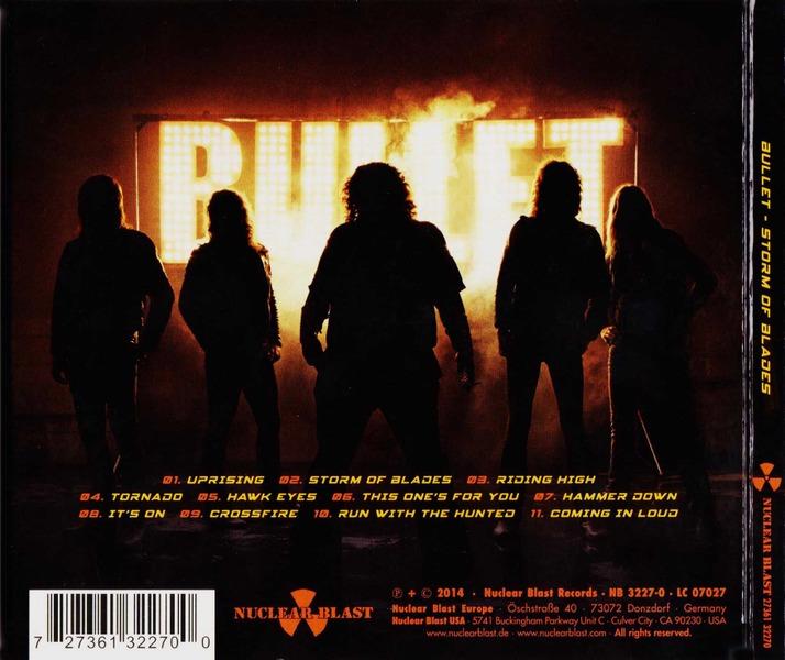 Bullet - Storm Of Blades (Limited Edition Digipak) (2014)  ZmeDiI