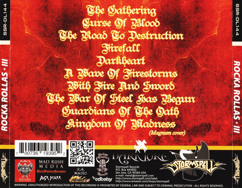 Rocka Rollas - The Road To Destruction (2014)  3C32dQ