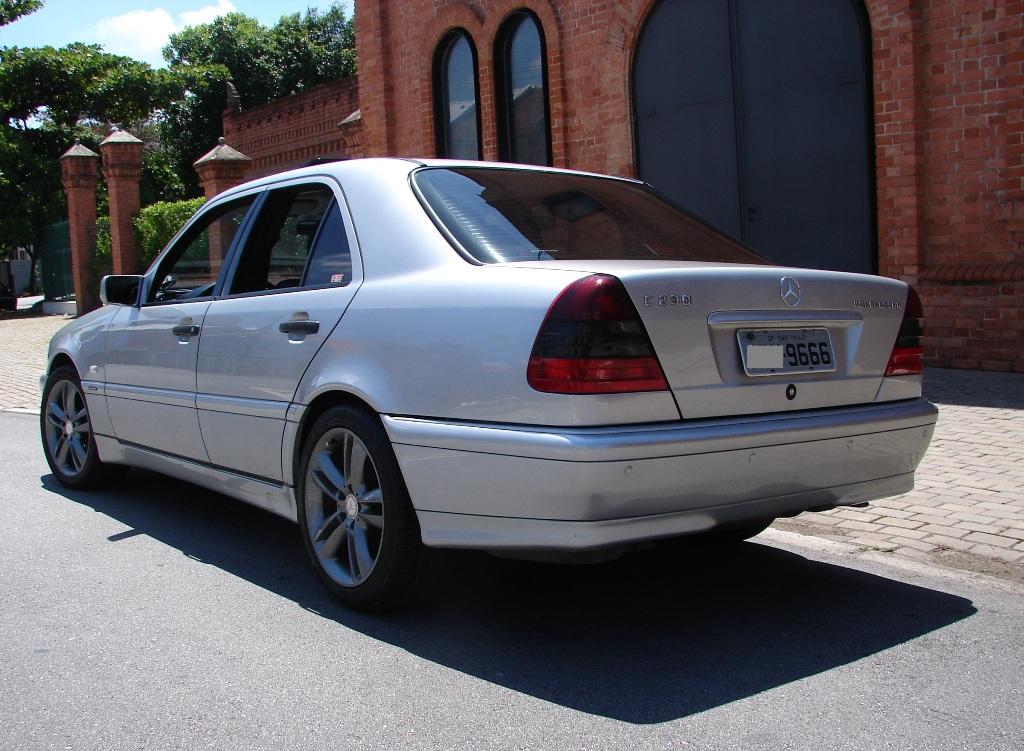 Vendo minha C 230 Kompressor  Sport 1998 - VENDIDO 283RGj