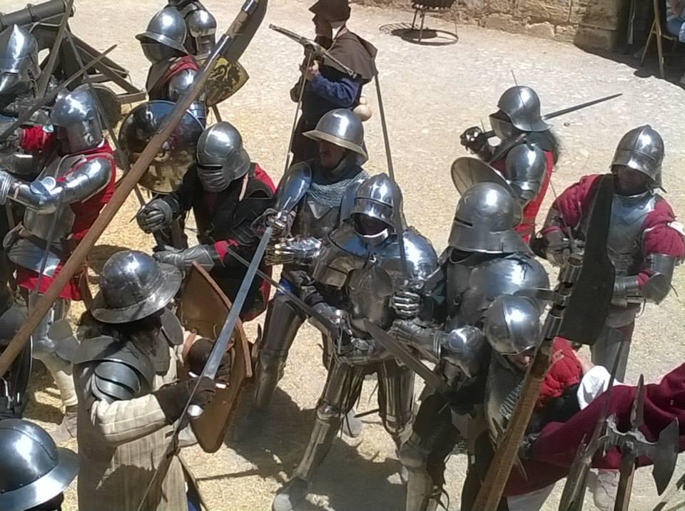 V Jornadas de Recreación Histórica con la Guerra de Sucesión Castellana (1475) Castillo de Belmonte VSAxqZ