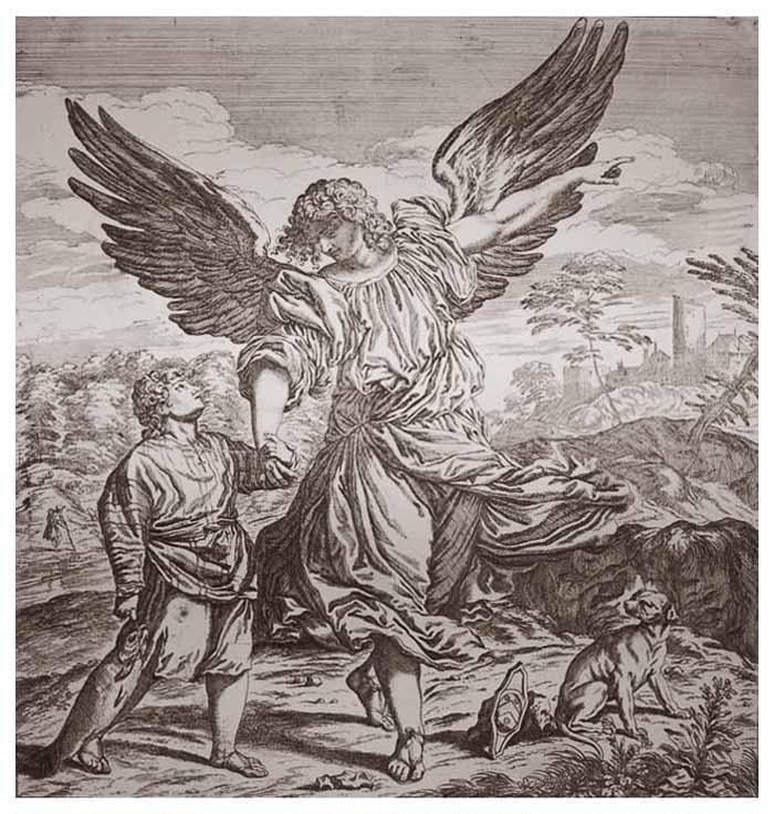 San Rafael Arcángel / Almas del Purgatorio - MR(321) (R.M. SXVIII-O183) Mr321b
