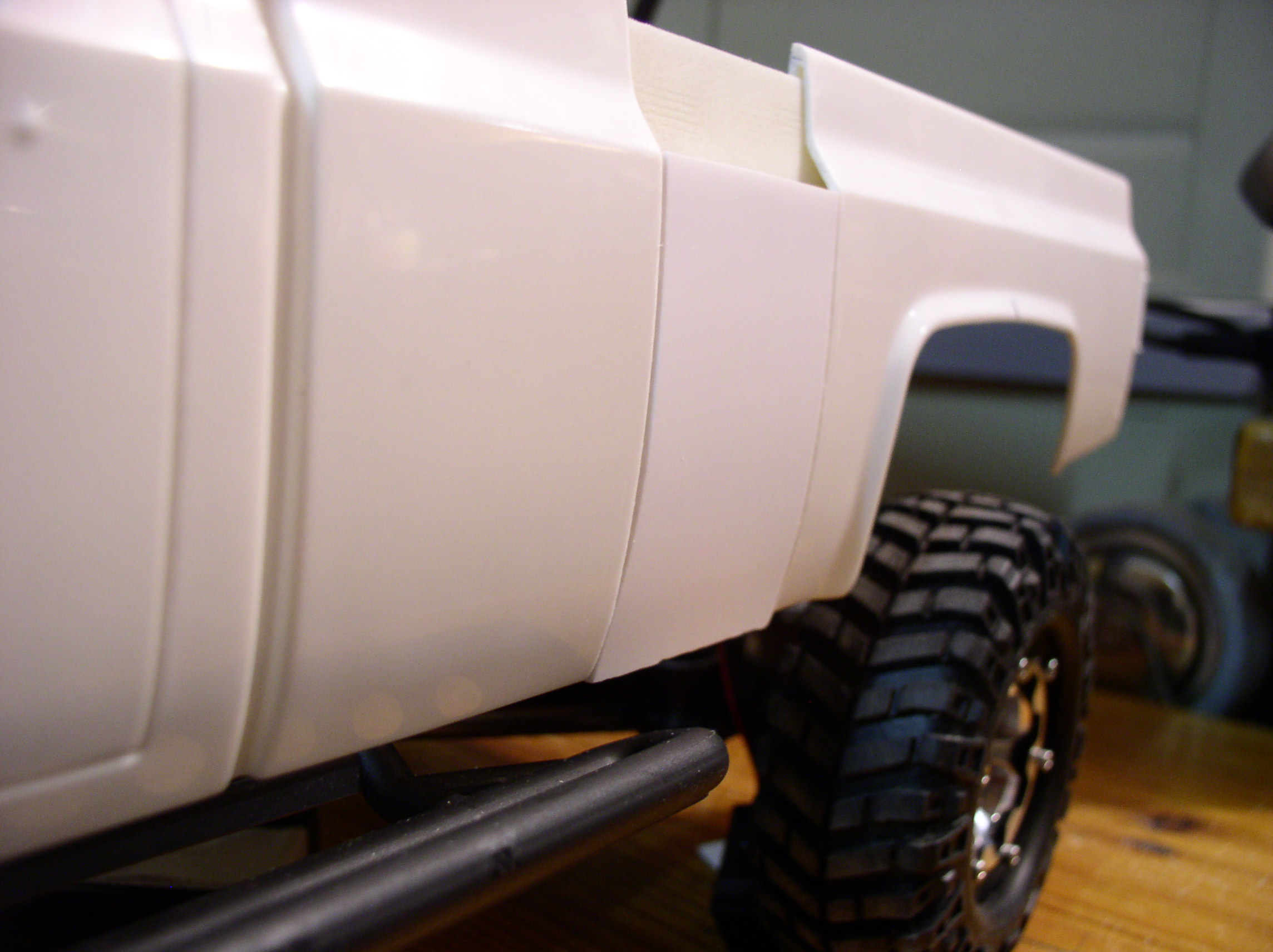 Mon Chevrolet K5, benne rallongée  (châssis SCX10)  P10100081
