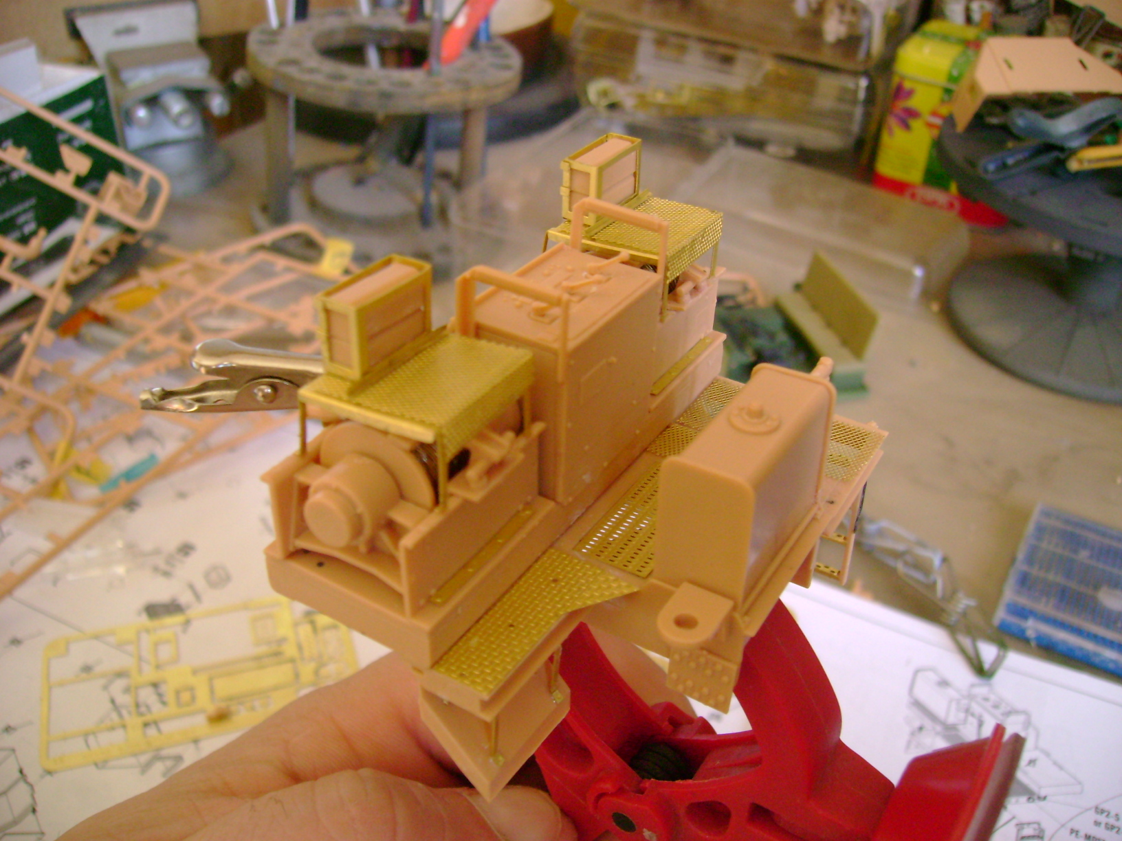 M1070 Truck Tractor & M1000 Semi-Trailer By T-bird!!!!! 1/35 Hobby Boss.Up du01/02.... - Page 3 58811120