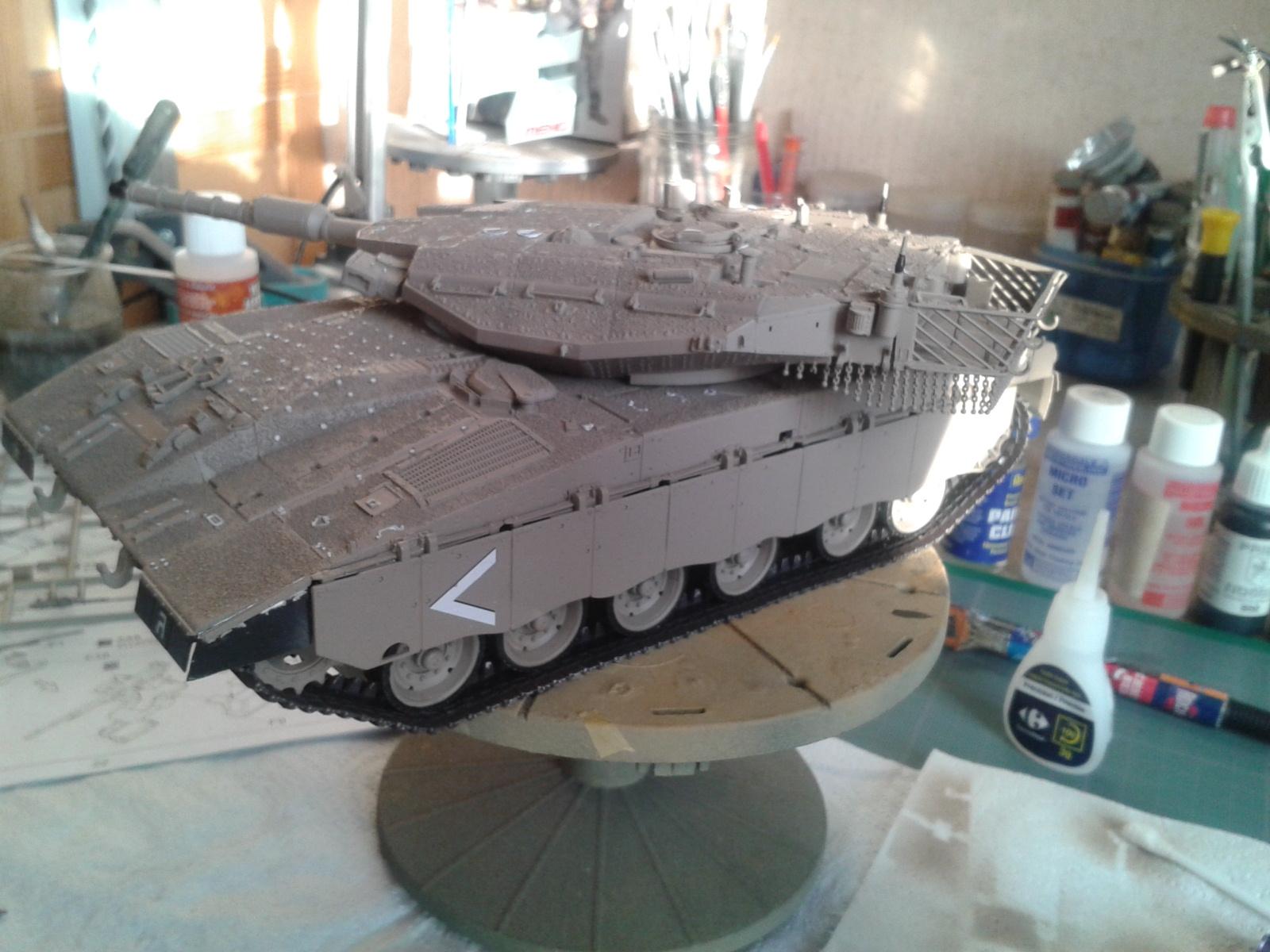 IDF MERKAVA MK.3D EARLY au 1/35 By Meng.....Terminer !!!! et sur son dio.... - Page 2 20130326180409