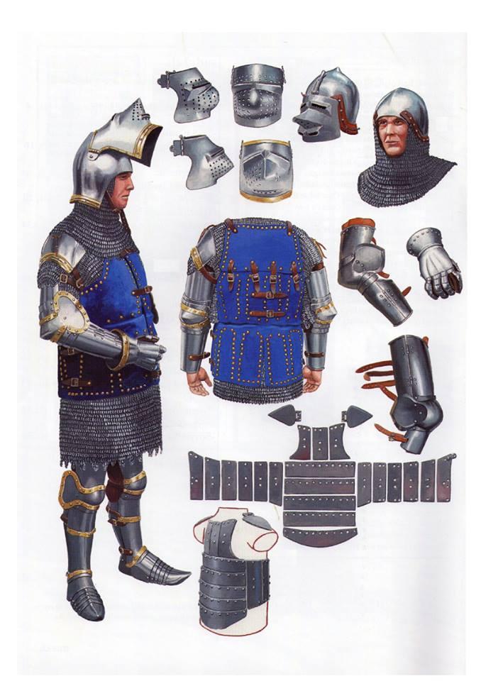 Armaduras y armas de los caballeros JnhhUE