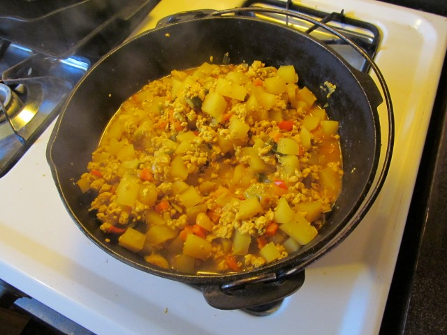 Backpacking Curried Chicken G0hYX8