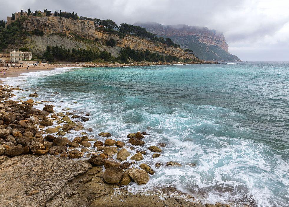 Sur la plage de Cassis UB5NeN