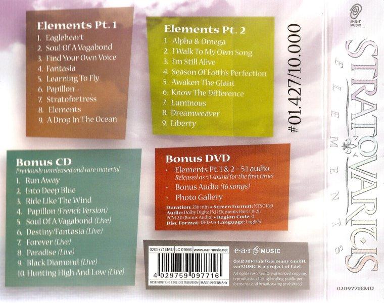 Stratovarius - Elements (Рt.1 & 2) (3СD) (Limited Edition Digipak) (2014)  3A7xNJ