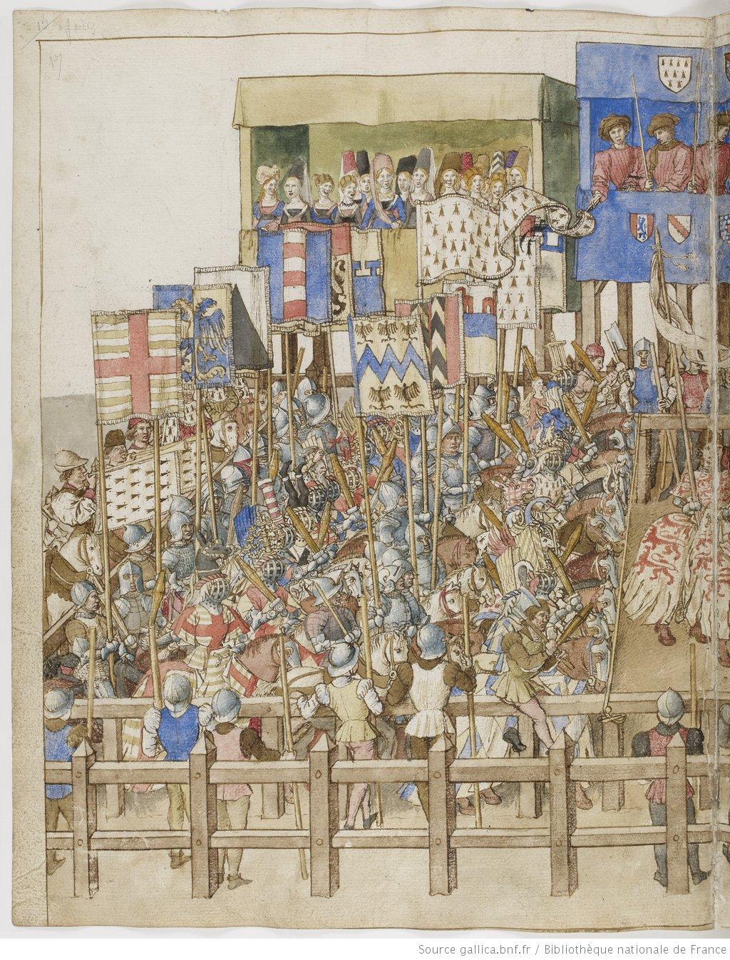 Libro del torneo del Rey René de Anjou (1460) 0HH78r