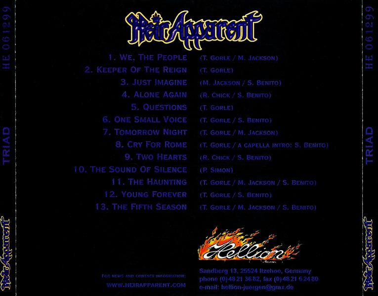 Heir Apparent - Triad (1999)  A9auJ1