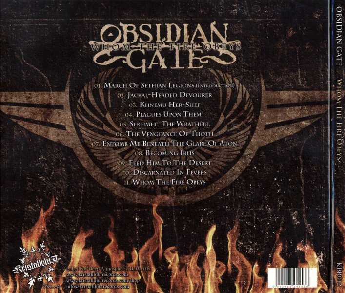 Obsidian Gate - Whom The Fire Obeys (2014)  5DMy4h