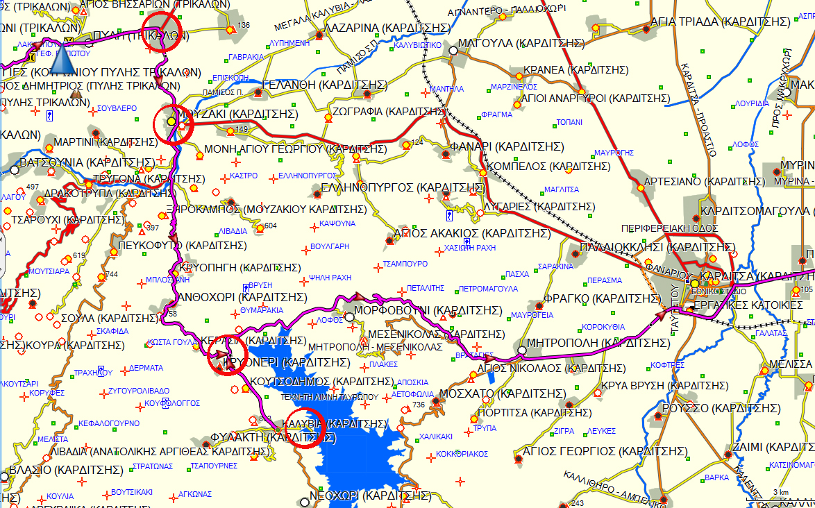 Διαδρομή Αθήνα-Μονοδένδρι DmQMWc