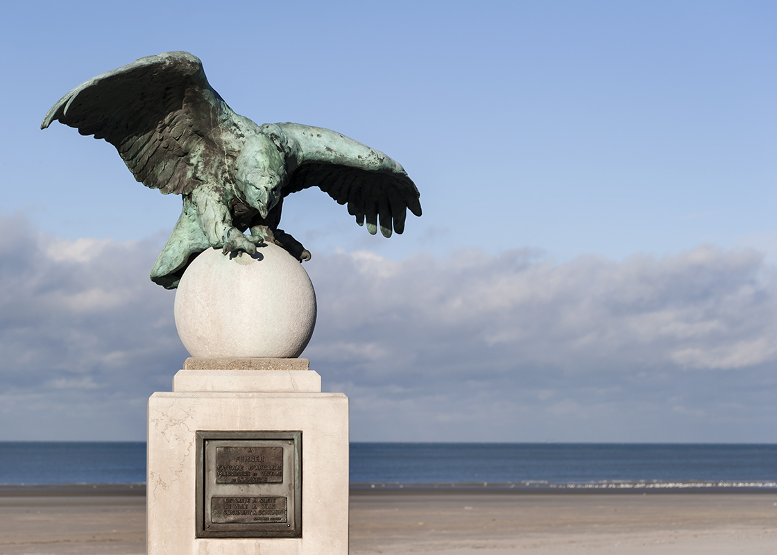 Monument à l'aviateur Ferber (Boulogne / mer). GF61pI