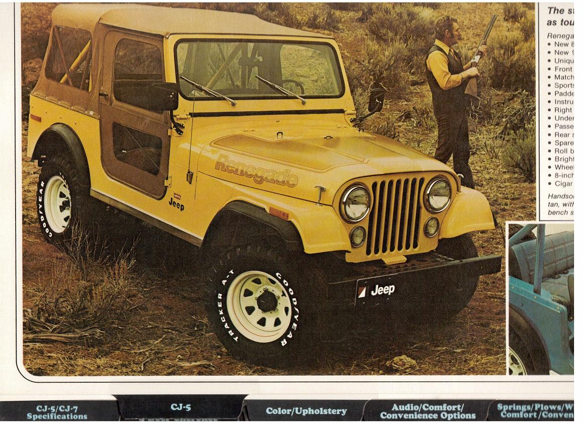 Jeep CJ7: différences entre versions - Page 2 Numris271120122151red