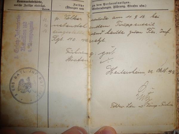 Traduction militarpass et wehrpass d'un suisse ayant combattu pour les allemands Dsc02059cg