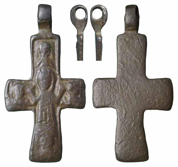Cruz bizantina - CC065  Sqt9