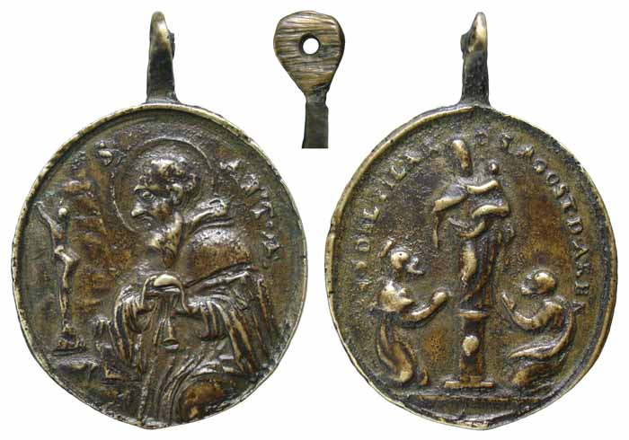 S. Antonio Abad / V. del Pilar de S. Agustin de Arenas - MR(318) (R.M. SXVIII-=182) Z005a