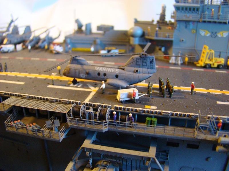 USS WASP LHD-1 1/350 Revell  Dsc09170d