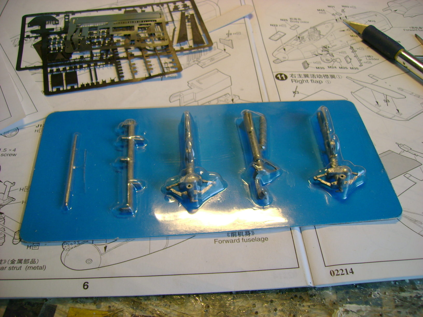 A-10 Thunderbolt II...1/32 Trumpeter + PE Edouard....( T-Bird) Up 02/12... 72920095