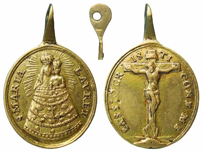 Virgen de Loreto / Crucifixion de Jesús  (R.M. SXVIII-O158) Z17a
