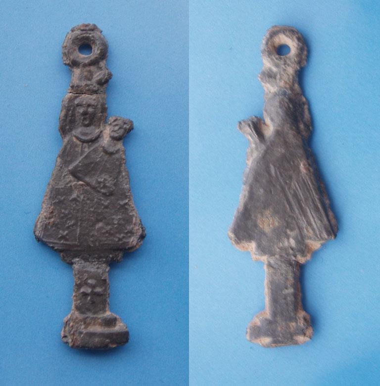 Medalla Figurada del Pilar Ytre86