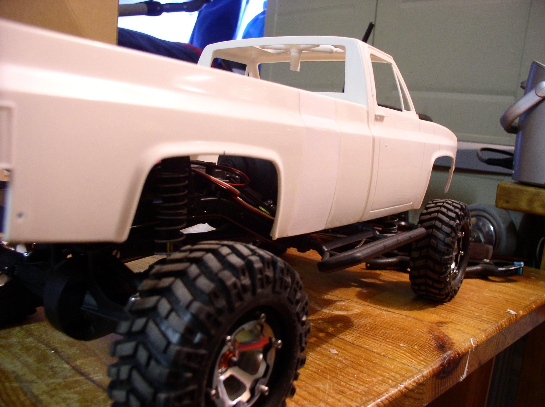 Mon Chevrolet K5, benne rallongée  (châssis SCX10)  P10ne