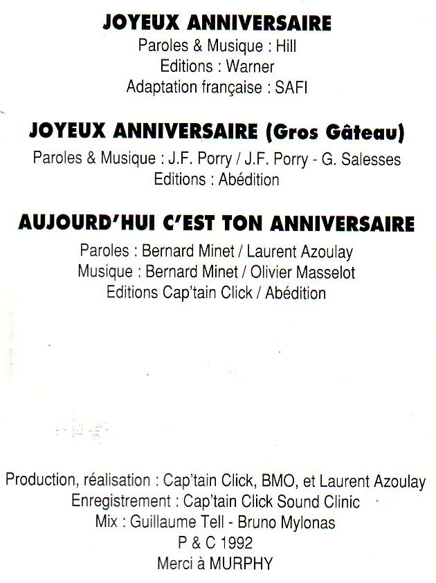Dorothée et AB Productions - Page 3 Joyeuxanniversaire2