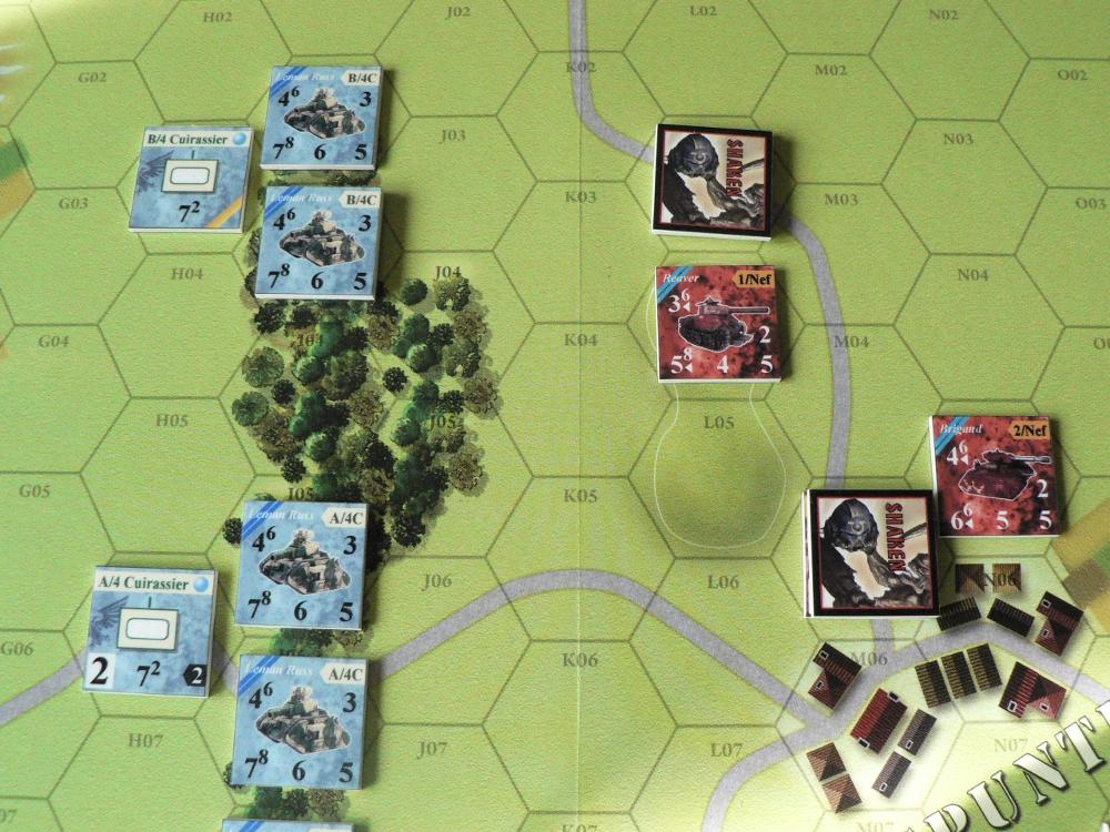 [CR] Blazing chariots : les plaines de feu 5b96