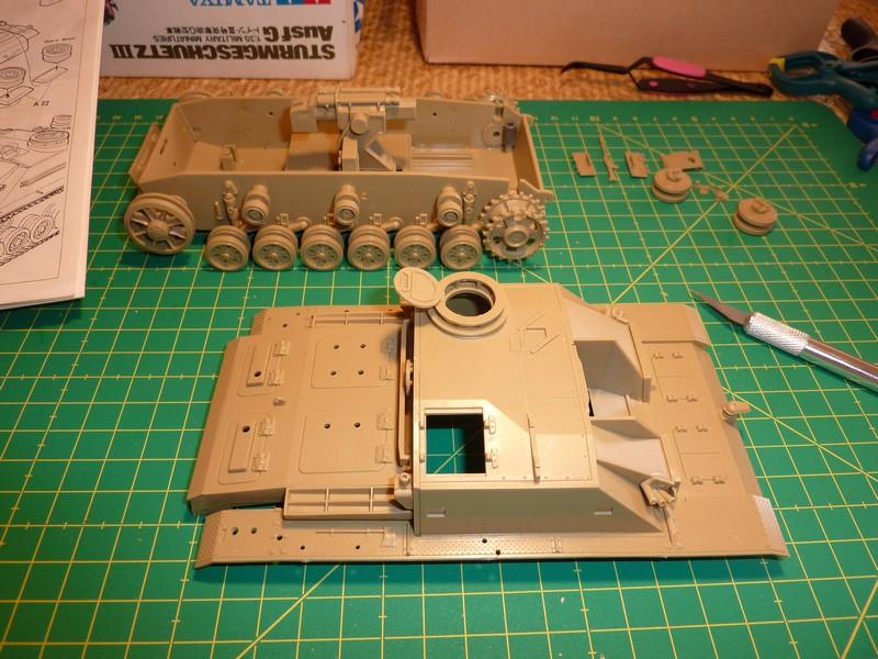 STUG - StuG III Ausf.G TAMIYA MM114 P1030675c