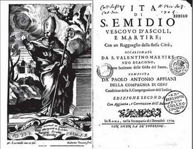 Inmaculada Concepción / San Emigdio de Ascoli  Nombress