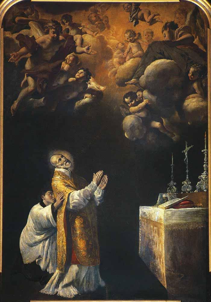 San Andrés Avelino / Inmaculada Concepción - (R.M.S.XVIII-O170)-MR(305) Mr305b