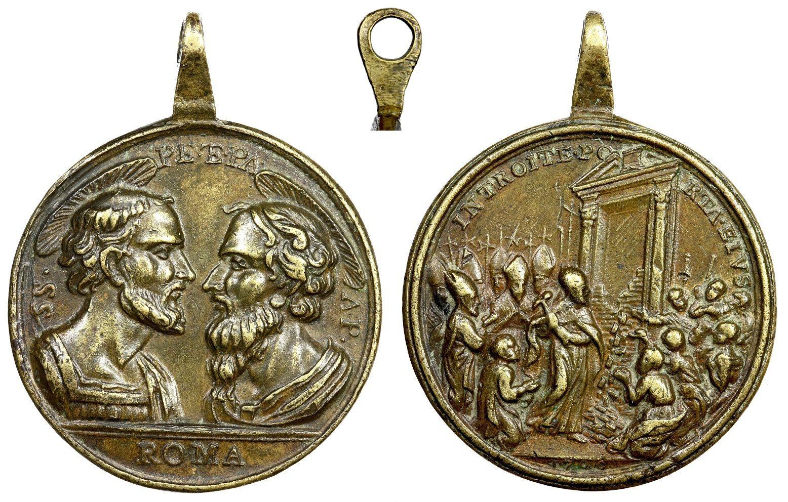 Jubileo Romano de 1750 - MR(395) (RM.SXVIII-C86) Tmh0