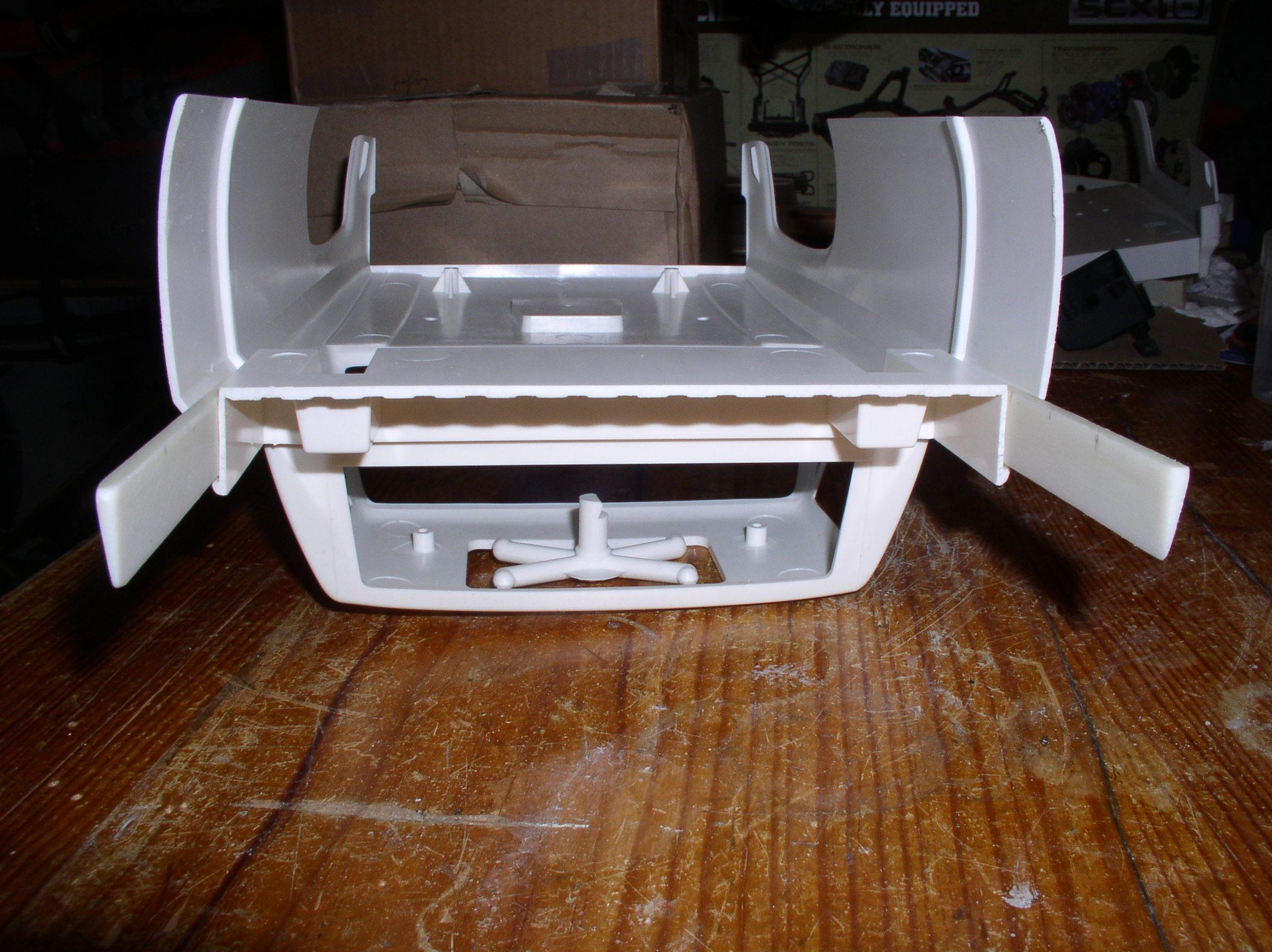 Mon Chevrolet K5, benne rallongée  (châssis SCX10)  P1010001mh