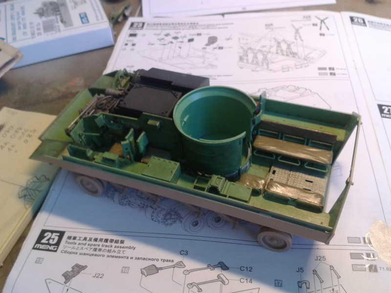 Bradleys M2A3 w/Busk III Meng 1/35 by T-Bird....Terminer !!!!! Jtgs