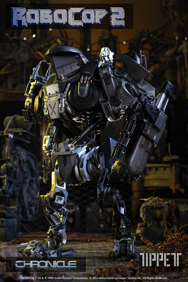Chronicle ultimate Robocop line Y0v2